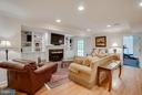 In-law suite living area w/private entrance. - 8615 LEE JACKSON CIR, SPOTSYLVANIA