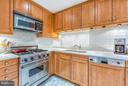 Kitchen with Poggenpohl cabinetry - 1155 23RD ST NW #4E, WASHINGTON