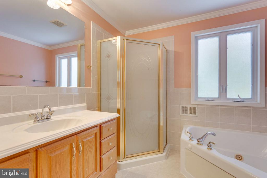 Master Bath with Separate Shower & Soaking Tub - 8738 ARLEY DR, SPRINGFIELD