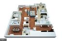 Proposed Floor Plan with 2nd Bedroom - 1155 23RD ST NW #4E, WASHINGTON