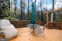 Large 2-Level Deck with Stairs to Backyard - 6055 PARK WOODS TER, BURKE