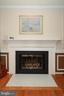 :Living Room Fireplace - 6055 PARK WOODS TER, BURKE