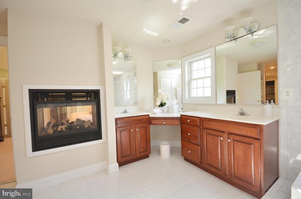 Bath (Master) with Gas Fireplace - 41155 TROTTER LN, PAEONIAN SPRINGS