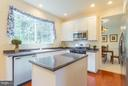 Kitchen features new corian counters - 17 HEATHERBROOK LN, STAFFORD