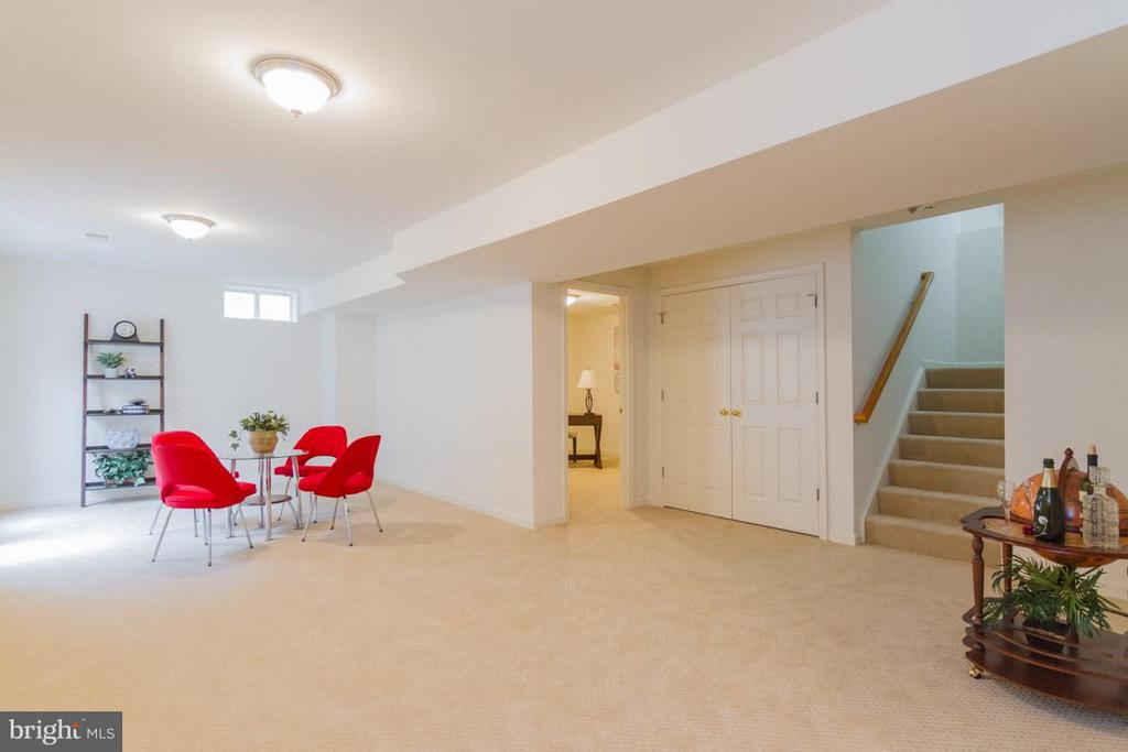 Lower level ready to entertian! - 17 HEATHERBROOK LN, STAFFORD