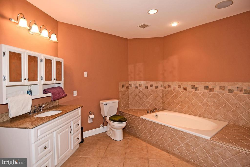 Large Bathroom in Basement - 12612 KAHNS RD, MANASSAS