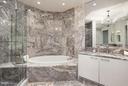 Marble Master Bath - 1881 N NASH ST #2102, ARLINGTON