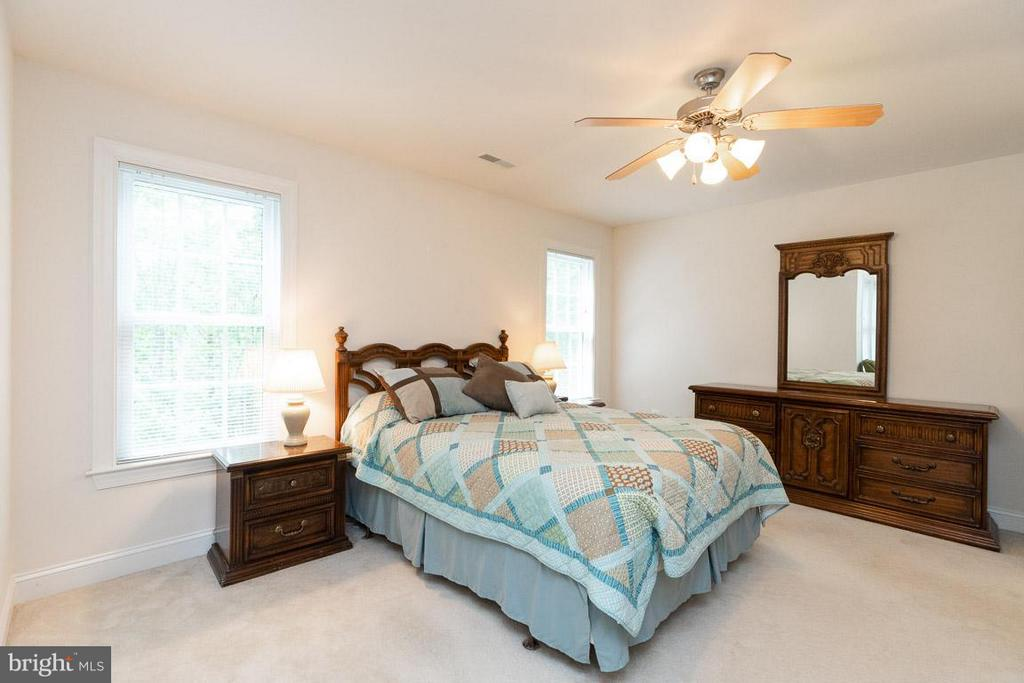 Master bedroom. - 13208 CHANDLER CT, FREDERICKSBURG