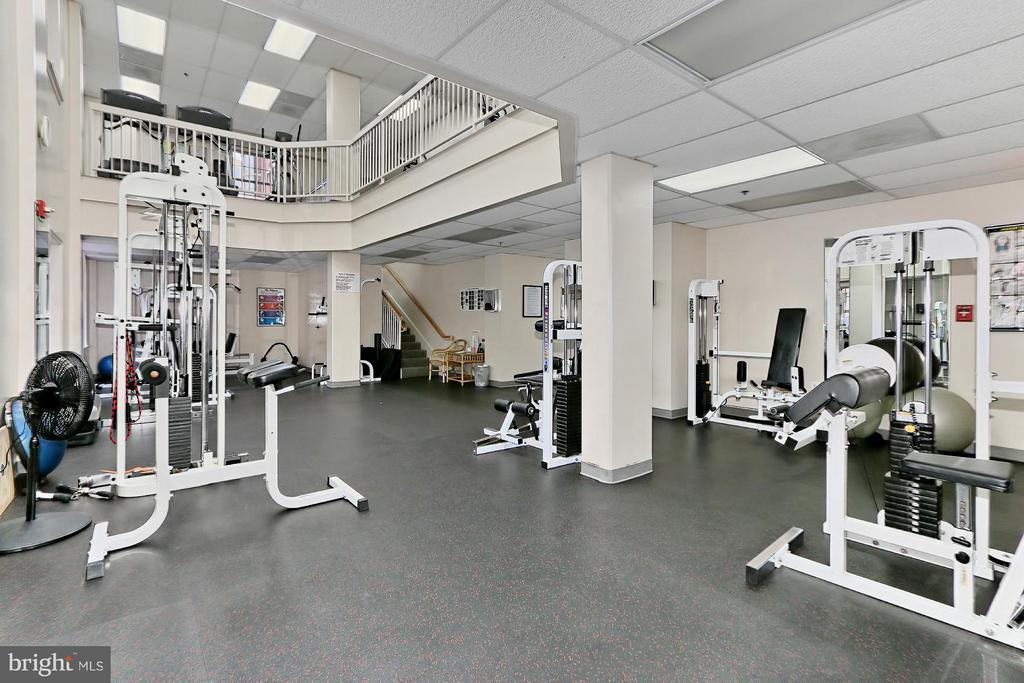West Building Gym - 2151 JAMIESON AVE #1903, ALEXANDRIA