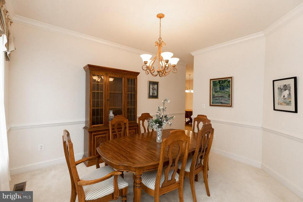 Dining Room. - 13208 CHANDLER CT, FREDERICKSBURG