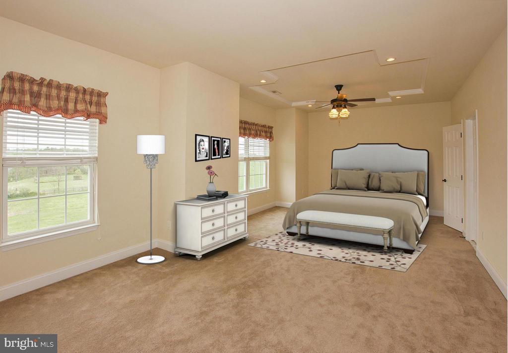Oversized 3rd bedroom with jack and jill bath - 38651 RICKARD RD, LOVETTSVILLE