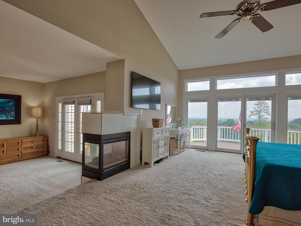 20' Ceilings and Deck/View Access - 17950 STONELEIGH DR, ROUND HILL