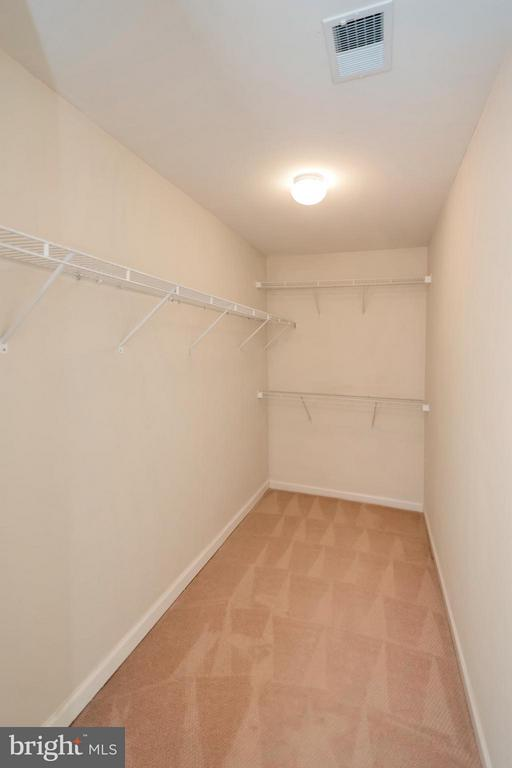 Large Walk-in Closet - 16385 GANGPLANK LN, WOODBRIDGE