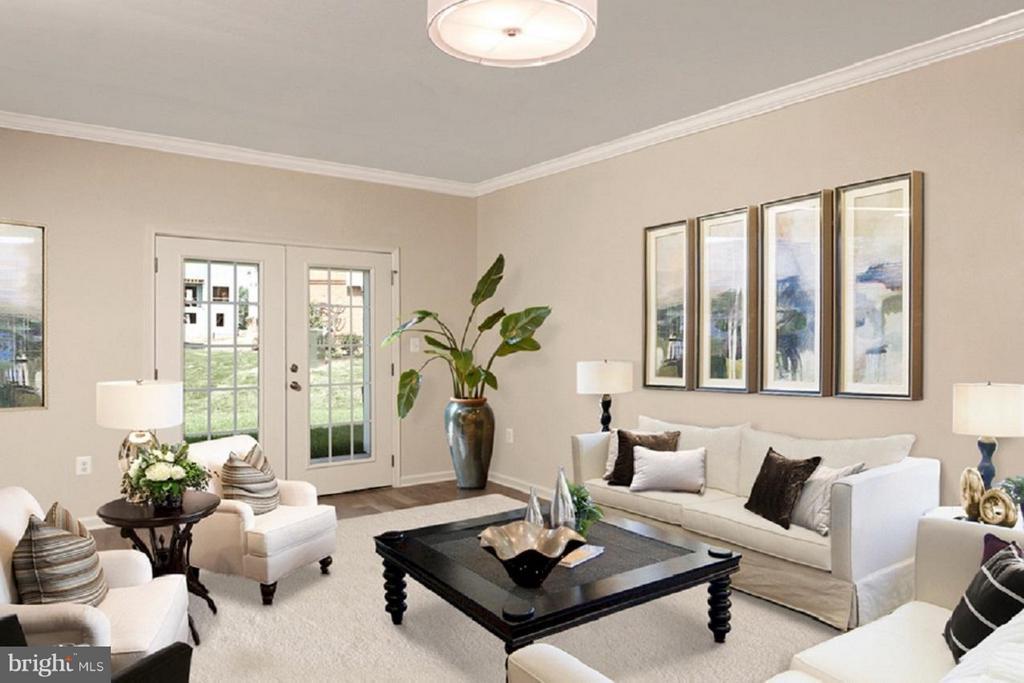 Duval Living Room - 43021 GREGGSVILLE CHAPEL TER #108, ASHBURN