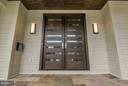 Hello beautiful mahogany doors! Perfect style! - 3546 UTAH ST N, ARLINGTON