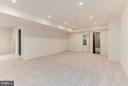 Lower level game room looking to bedroom - 3546 UTAH ST N, ARLINGTON
