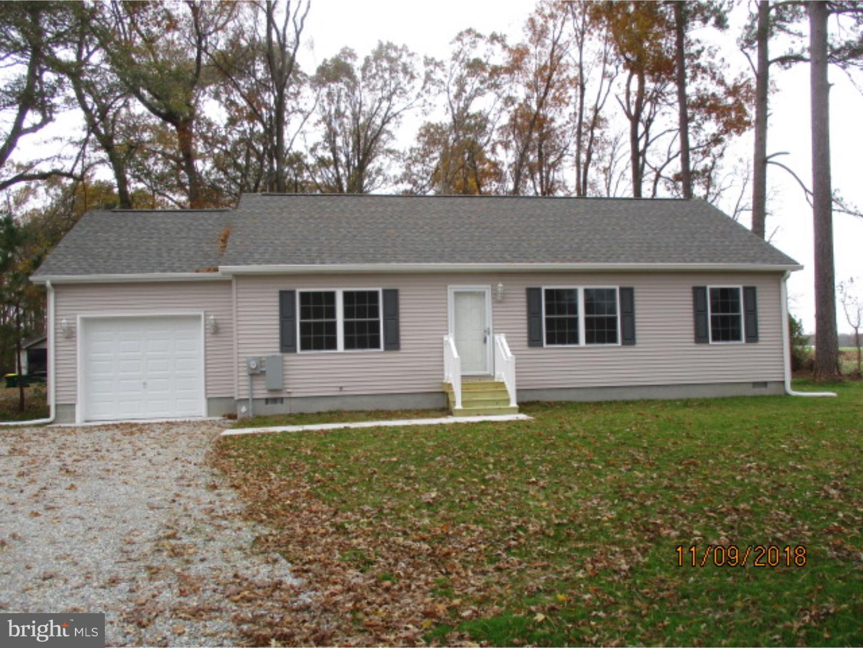 Casa Unifamiliar por un Venta en 18171 FLEATOWN Road Ellendale, Delaware 19941 Estados Unidos