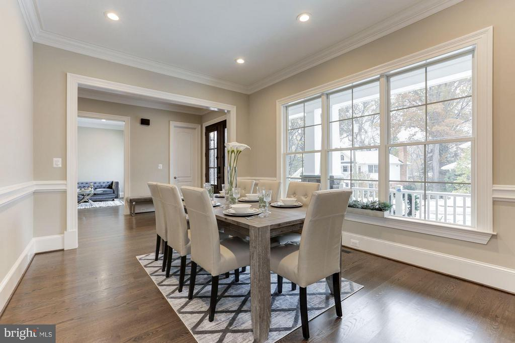Dining room - 3600 N PEARY ST, ARLINGTON
