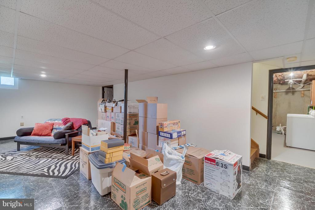 Basement Rec Room 2 - 5620 BARRYMORE RD, CENTREVILLE