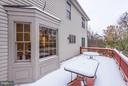 Deck - 20941 RUBLES MILL CT, ASHBURN