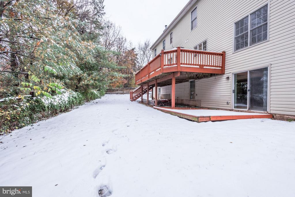 Backyard - 20941 RUBLES MILL CT, ASHBURN