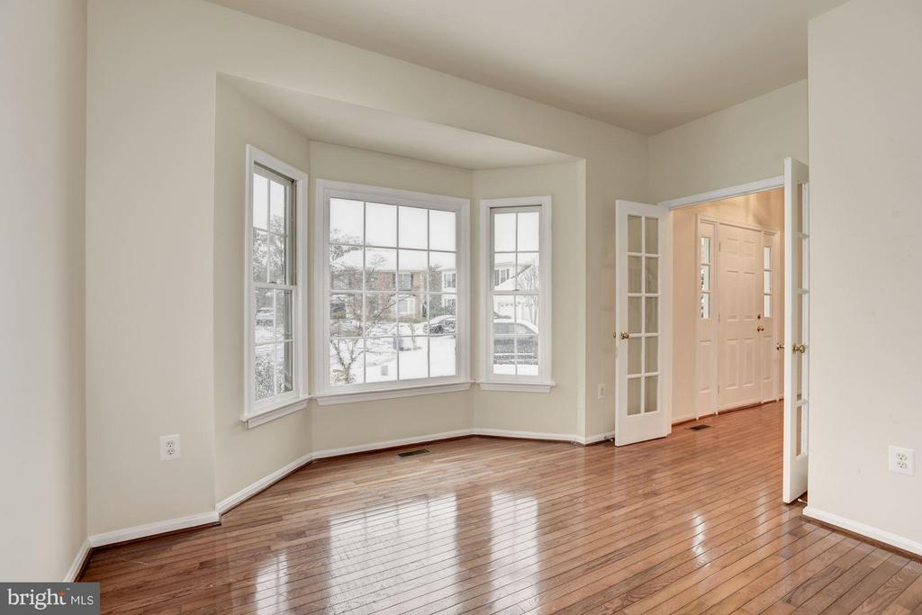 Den with French Doors - 20941 RUBLES MILL CT, ASHBURN