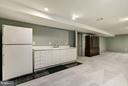 Wet bar Area in Basement - 20941 RUBLES MILL CT, ASHBURN