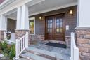 Front porche to main entry - 3600 N PEARY ST, ARLINGTON