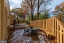 Wraparound Deck w/Privacy Fencing - 7709 HAMILTON SPRING RD, BETHESDA