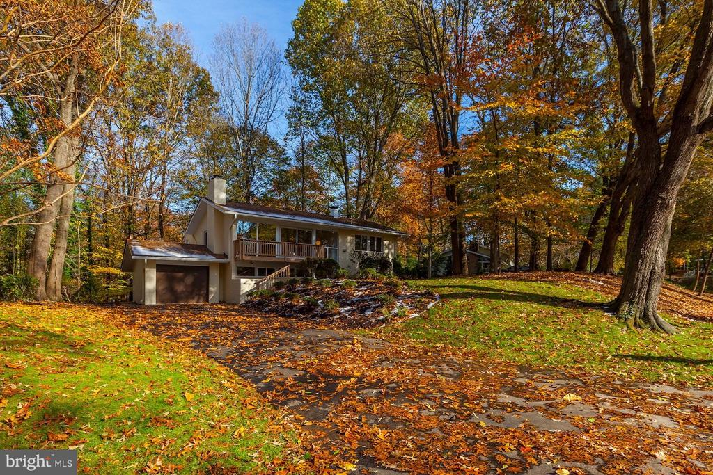Lovely exterior, but expanded interior is a WOW - 7709 HAMILTON SPRING RD, BETHESDA