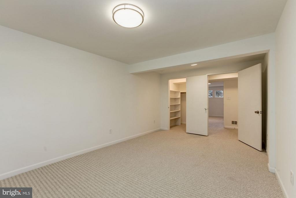 One of Two Bedrooms w/Walk-in Closets - 7709 HAMILTON SPRING RD, BETHESDA