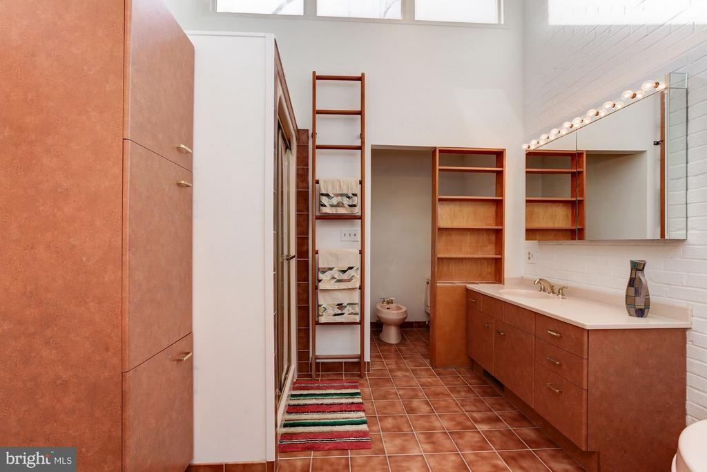 Master Bath: Separate Toilet Area - 7709 HAMILTON SPRING RD, BETHESDA