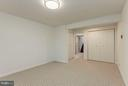 Large Bedroom w/Entry Alcove, WIC - 7709 HAMILTON SPRING RD, BETHESDA