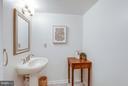 Main level Powder Room (See tour) - 11581 GREENWICH POINT RD, RESTON