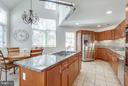 Renovated Kitchen - 11581 GREENWICH POINT RD, RESTON