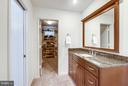 Separate vanities, walk in closet! - 11581 GREENWICH POINT RD, RESTON
