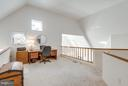 2nd family room overlooking living room - 11581 GREENWICH POINT RD, RESTON