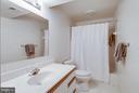 lower level full bath - 11581 GREENWICH POINT RD, RESTON