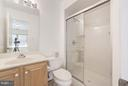 Full bath on ground level - 7273 JOHN RYLAND WAY, SPRINGFIELD
