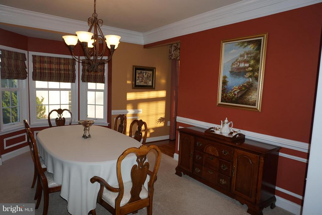 Formal Dining Room - 5311 AUSTRA PL, WOODBRIDGE