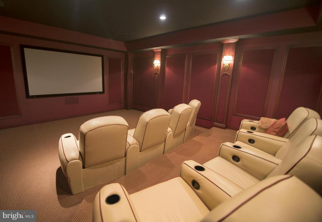 Home Theater - 12410 COVE LN, HUME