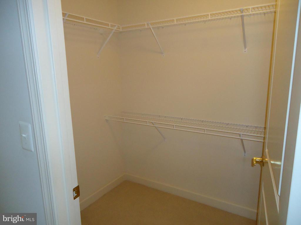 Master Bedroom Walk-In Closet # 1 - 485 HARBOR SIDE ST #306, WOODBRIDGE