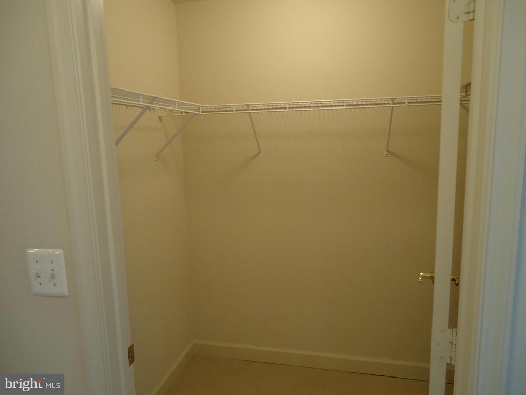 Guest Bedroom Walk-In Closet - 485 HARBOR SIDE ST #306, WOODBRIDGE