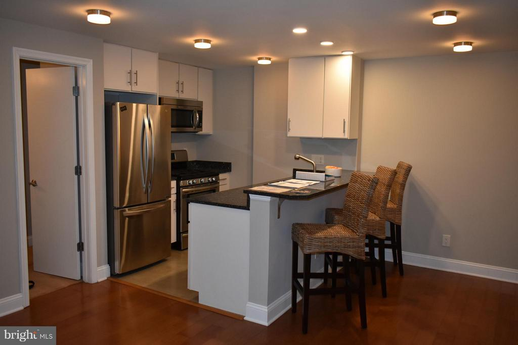 All New Kitchen, with Stone & Stainless Finish - 2339 40TH PL S #001, WASHINGTON
