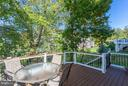 Newer composite deck with trees and privacy - 18349 MID OCEAN PL, LEESBURG