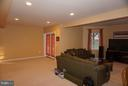 Recreation room in the~basement - 5311 AUSTRA PL, WOODBRIDGE