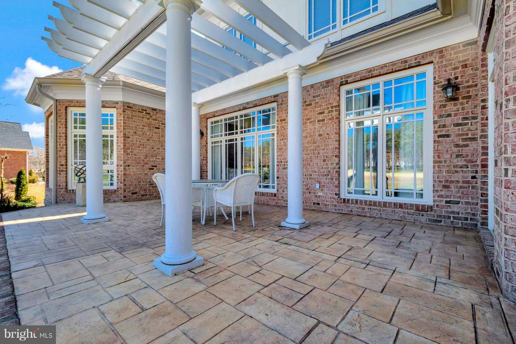 Beautiful Stamped-Concrete Patio - 11801 FAWN LAKE PKWY, SPOTSYLVANIA