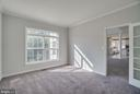 Main Level Study with French Door - 24 SAINT CHARLES CT, STAFFORD
