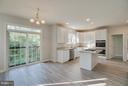Updated Kitchen opens up to Breakfast Area - 24 SAINT CHARLES CT, STAFFORD
