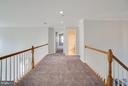 Large upstairs hall overlooks lower level - 24 SAINT CHARLES CT, STAFFORD
